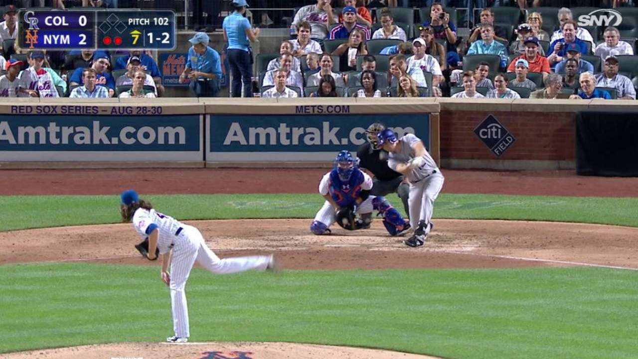 Home deGrominance: Mets roll at Citi again