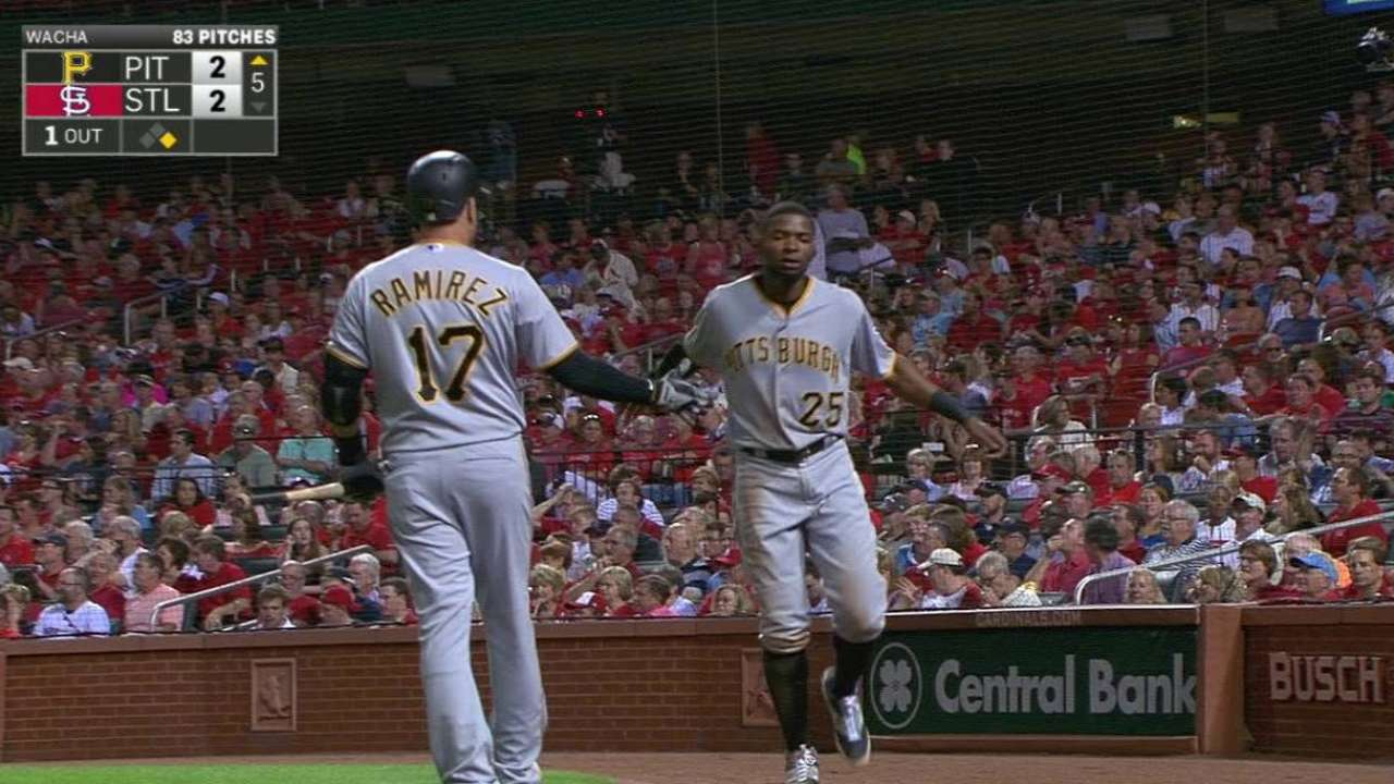 Cutch's RBI triple