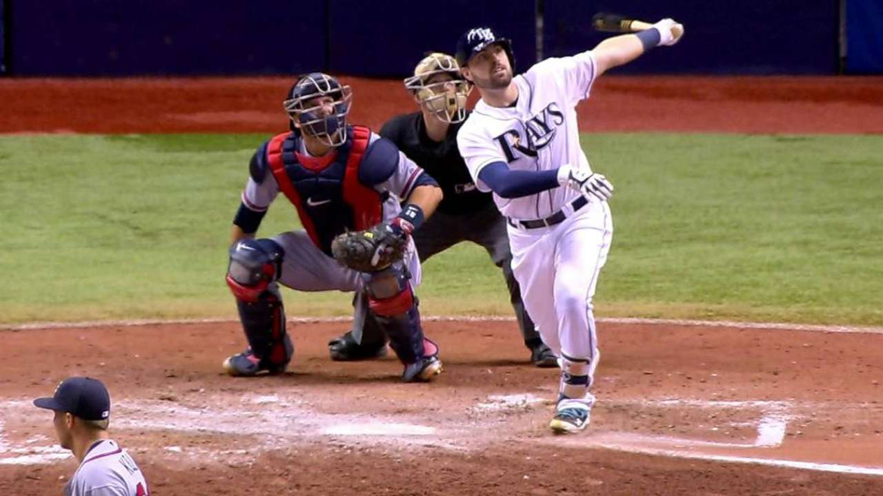 Six-run 7th propels Rays past Braves