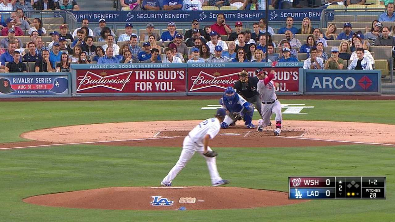 Kershaw notches 200 K's