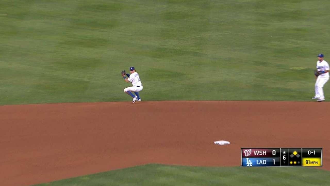 Hernandez's outstanding stop