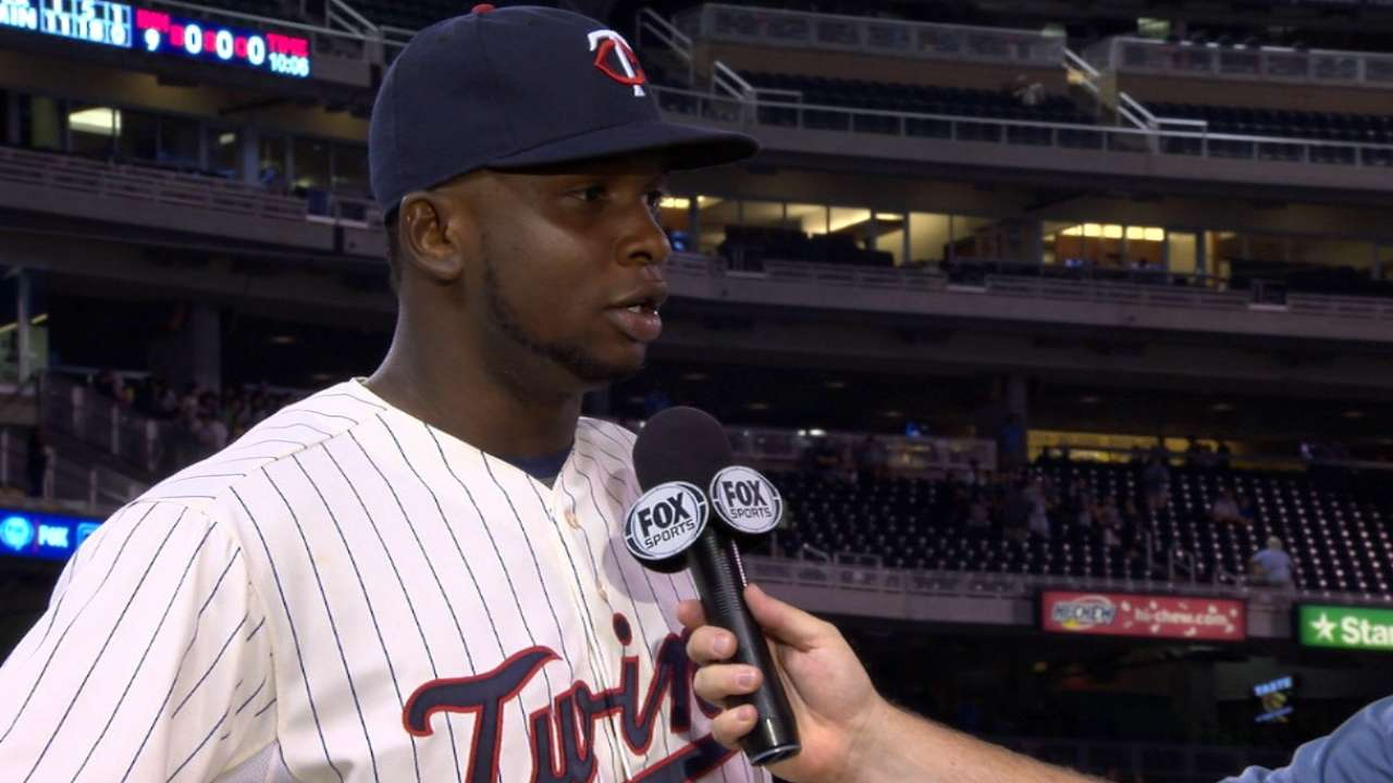 Sano on big night at the plate