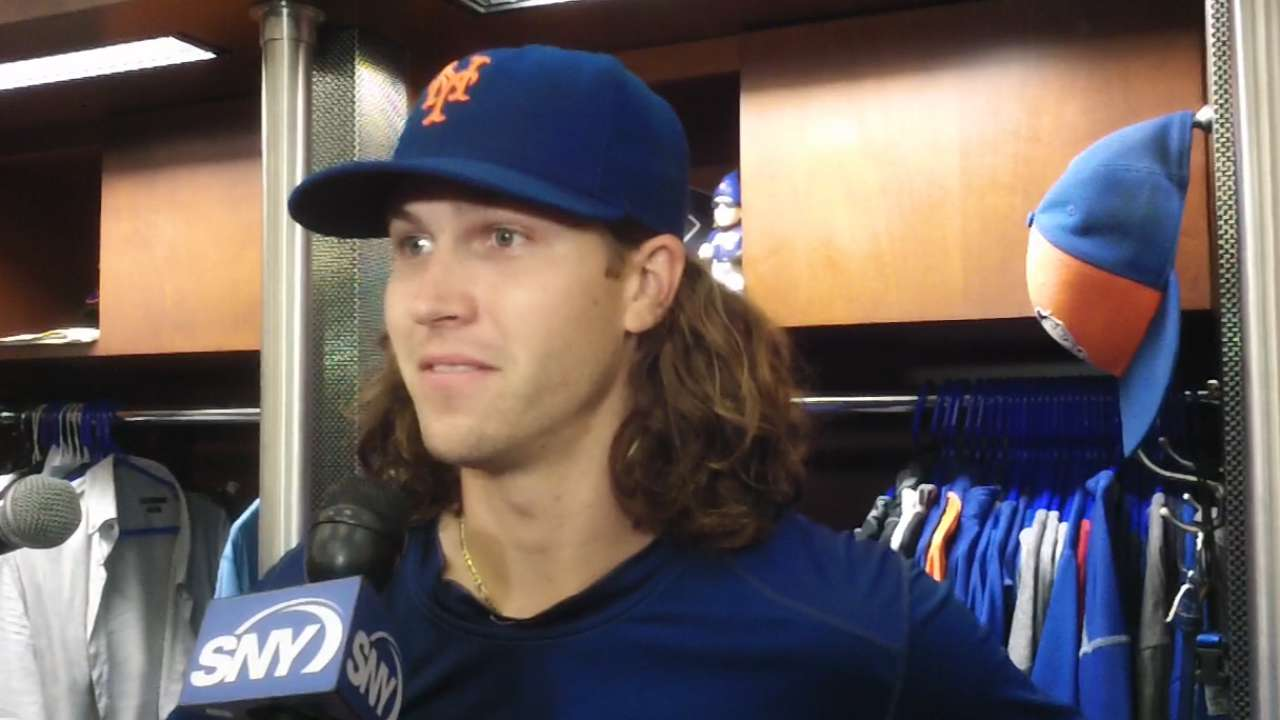 Mets on great pitching, offense