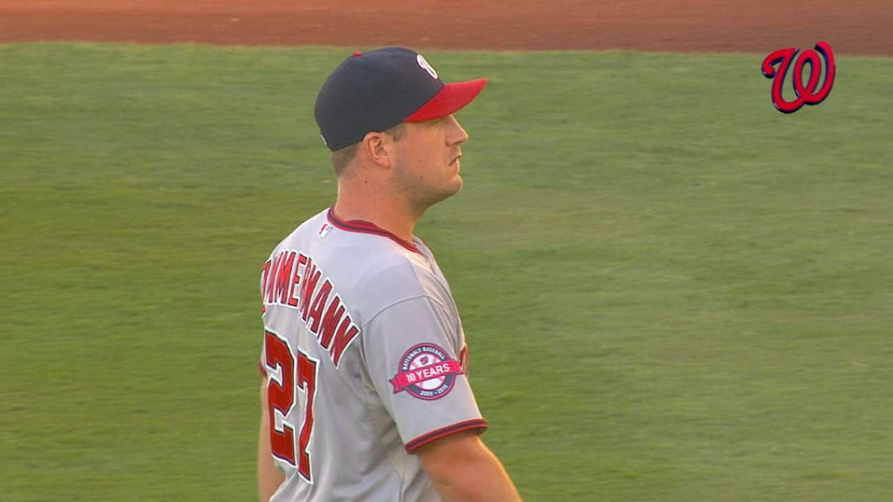 Zimmermann's mistake is all Kershaw needs