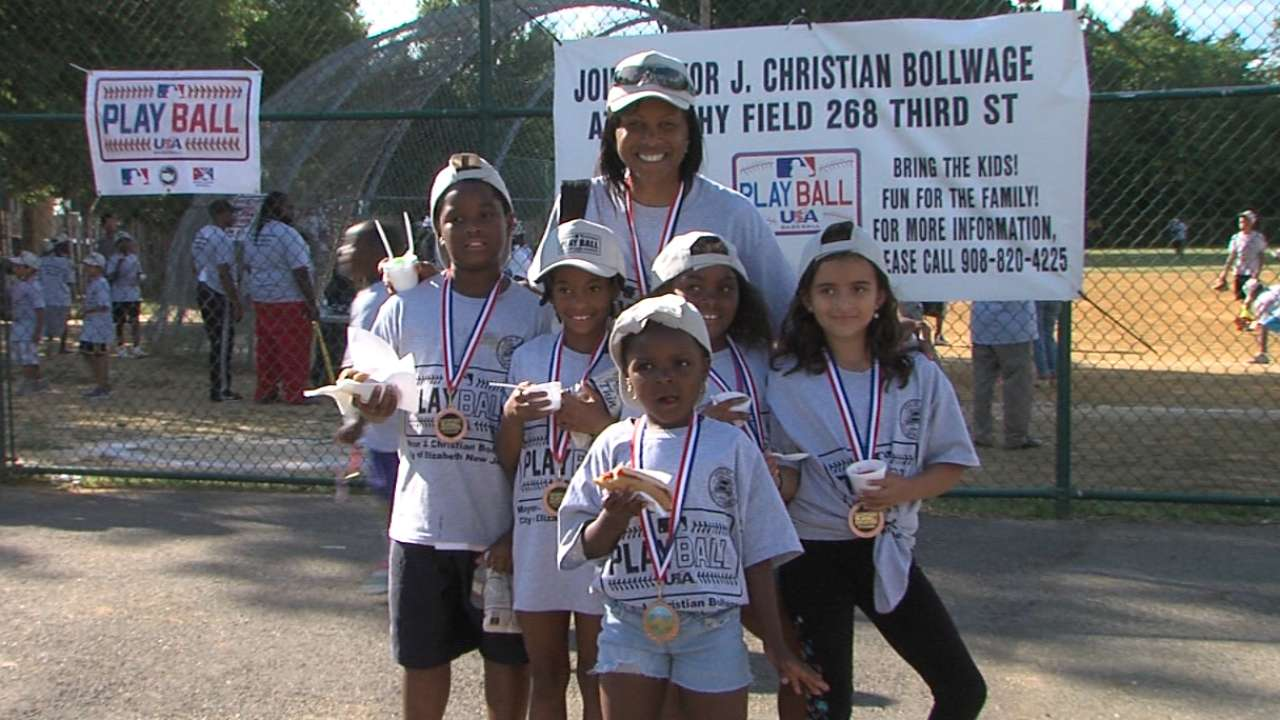 Play Ball initiative takes over Elizabeth for a day