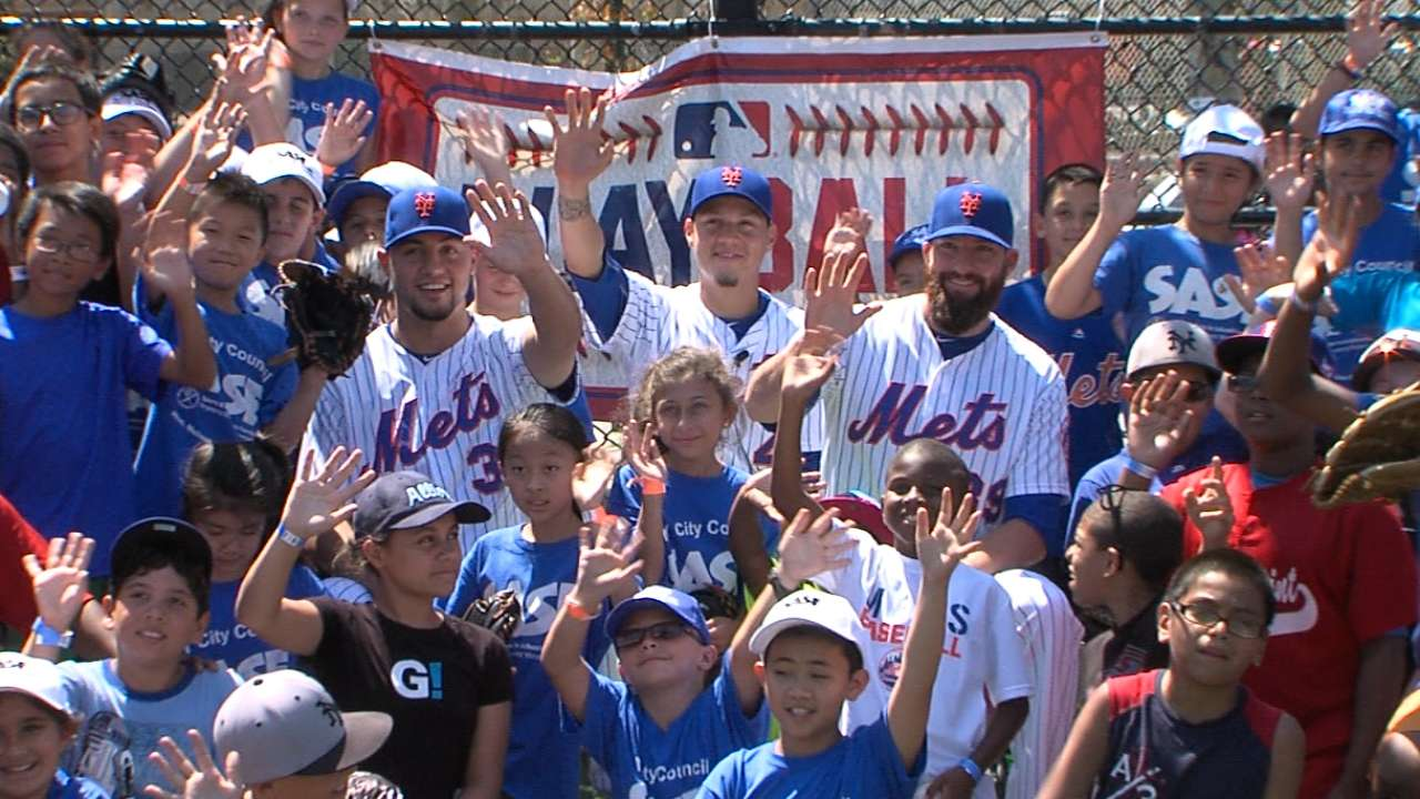 Play Ball event held in Queens