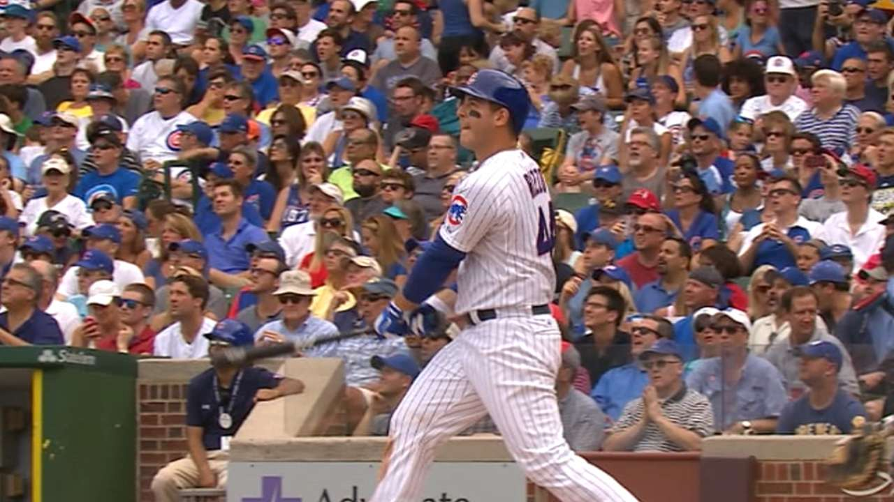 Lester, 5 HRs spur Cubs to 7th straight