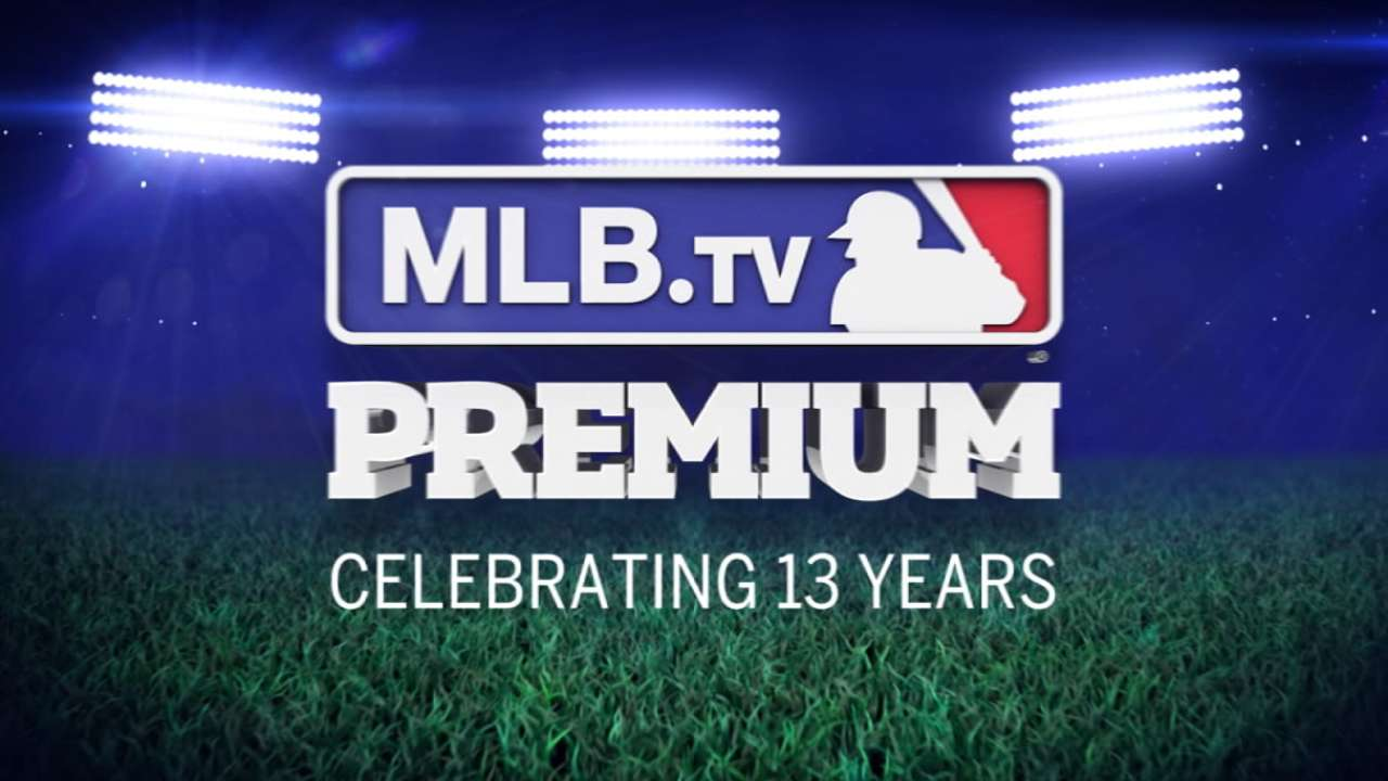 Weekend packed with drama free on MLB.TV