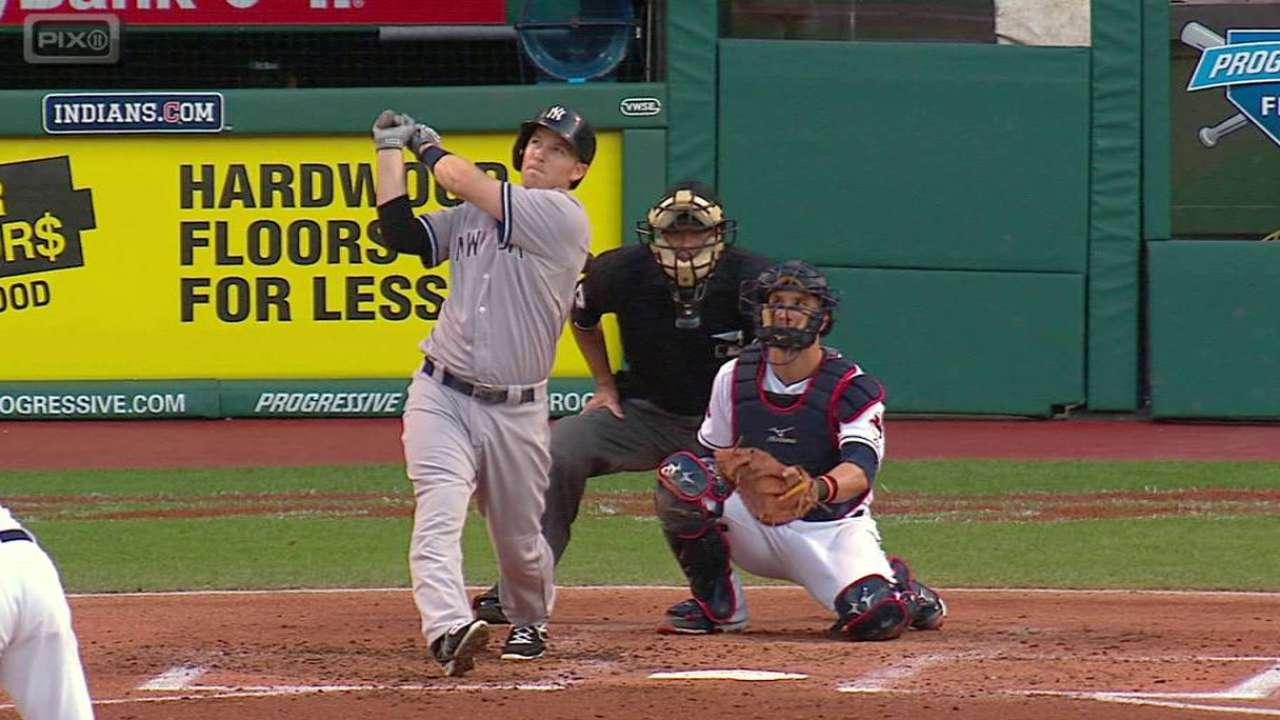 Yankees evitan barrida con triunfo sobre Indios en Cleveland