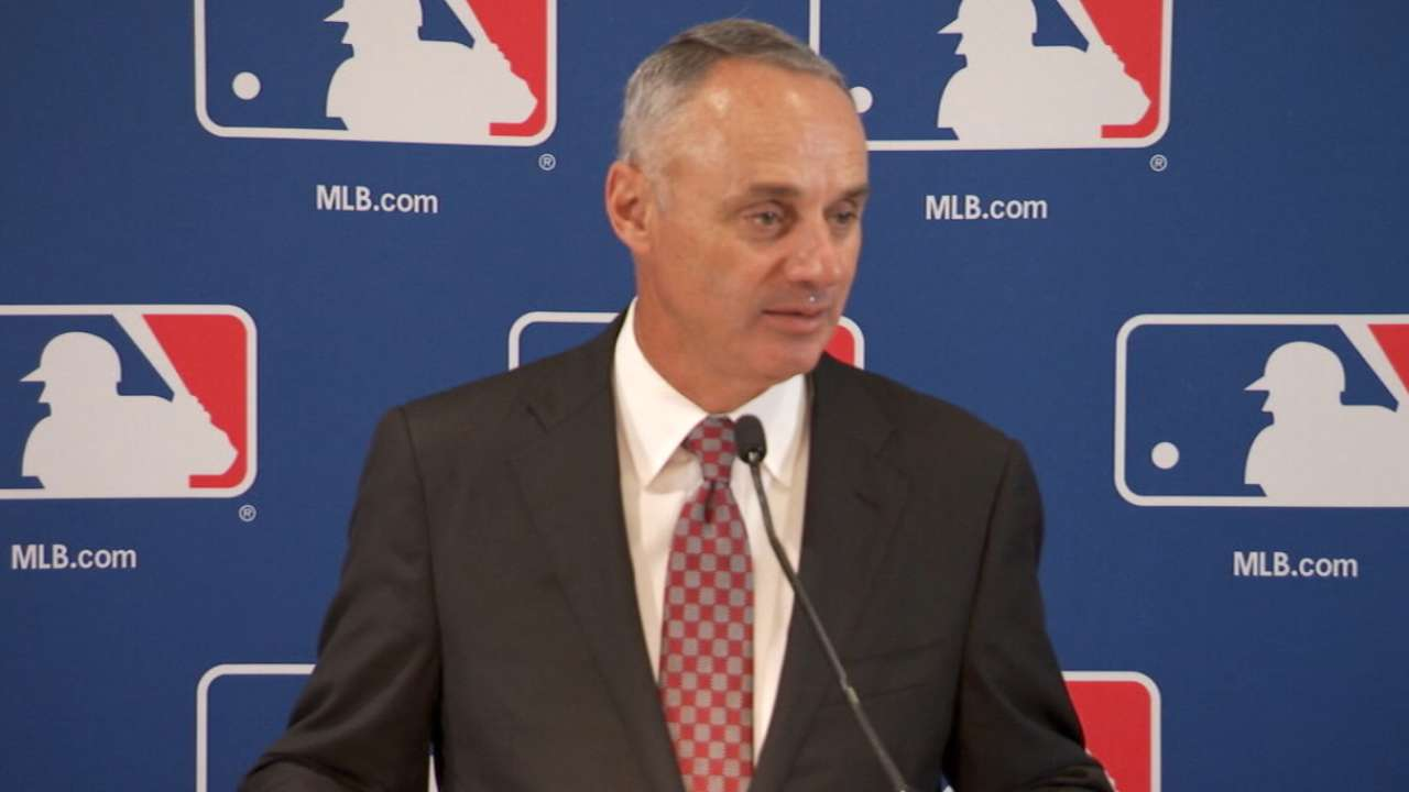 Manfred on new CBA preparation