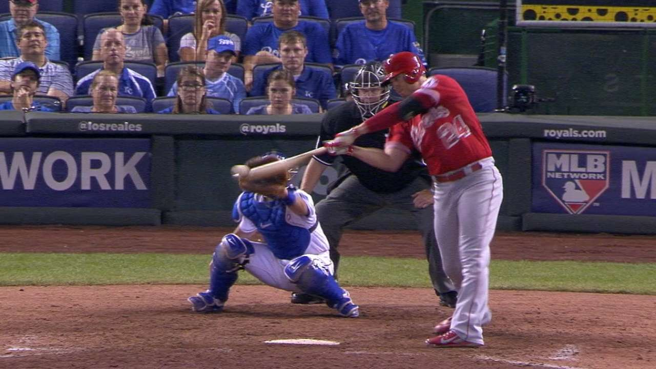 Angels' bats bust out to snap tough road skid