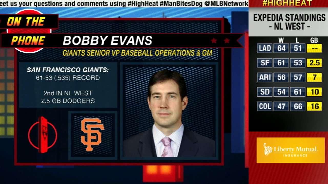 Bobby Evans joins High Heat