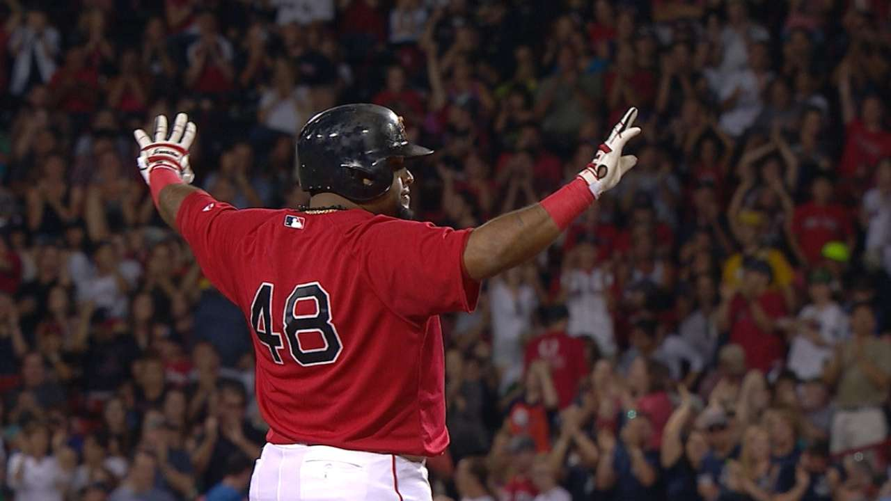 Red Sox put on hit parade in rout over Mariners