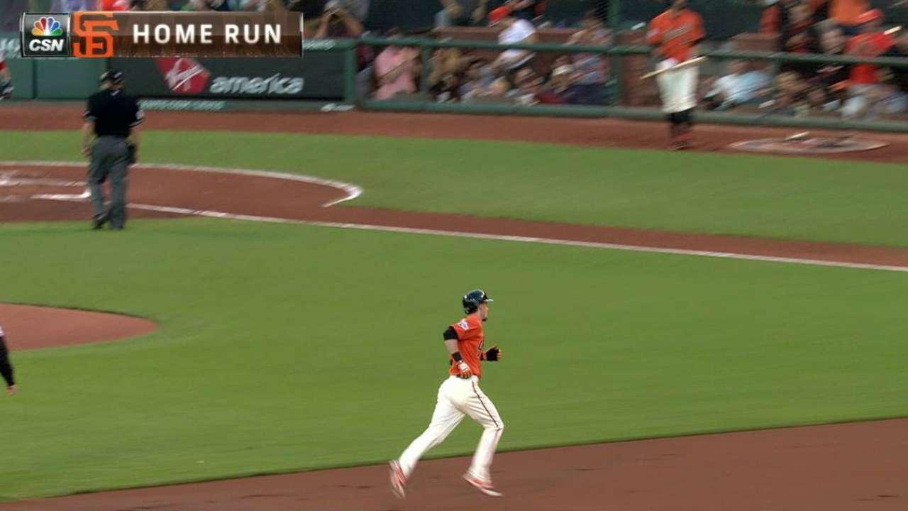 Duffy's solo home run