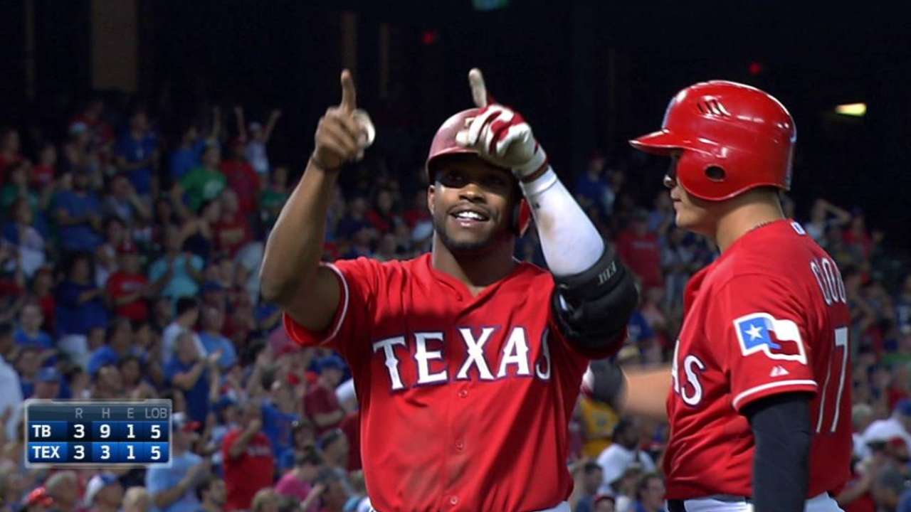 DeShields' first HR inspires comeback rally