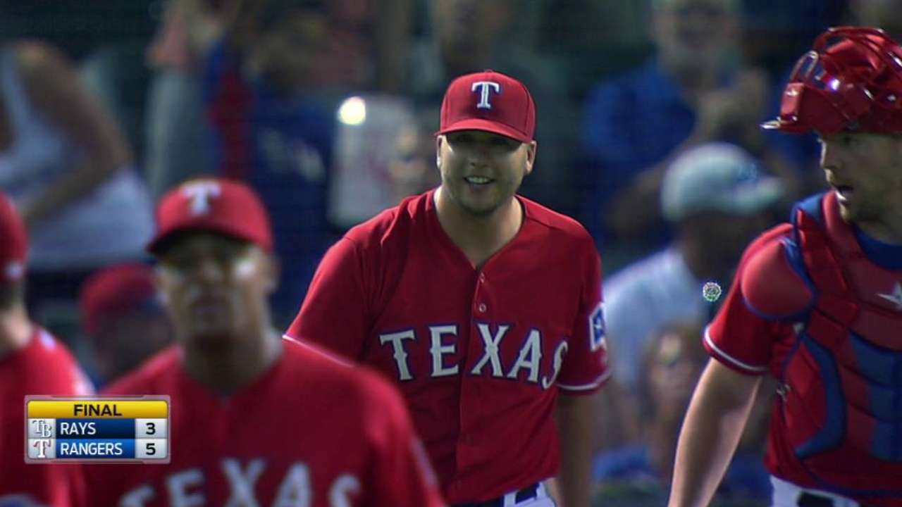 Rangers get two to end game