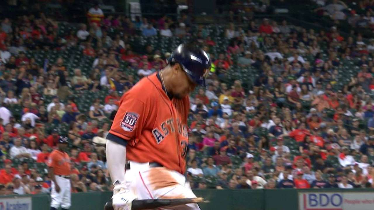 Gomez says he needs to 'step up' for Astros