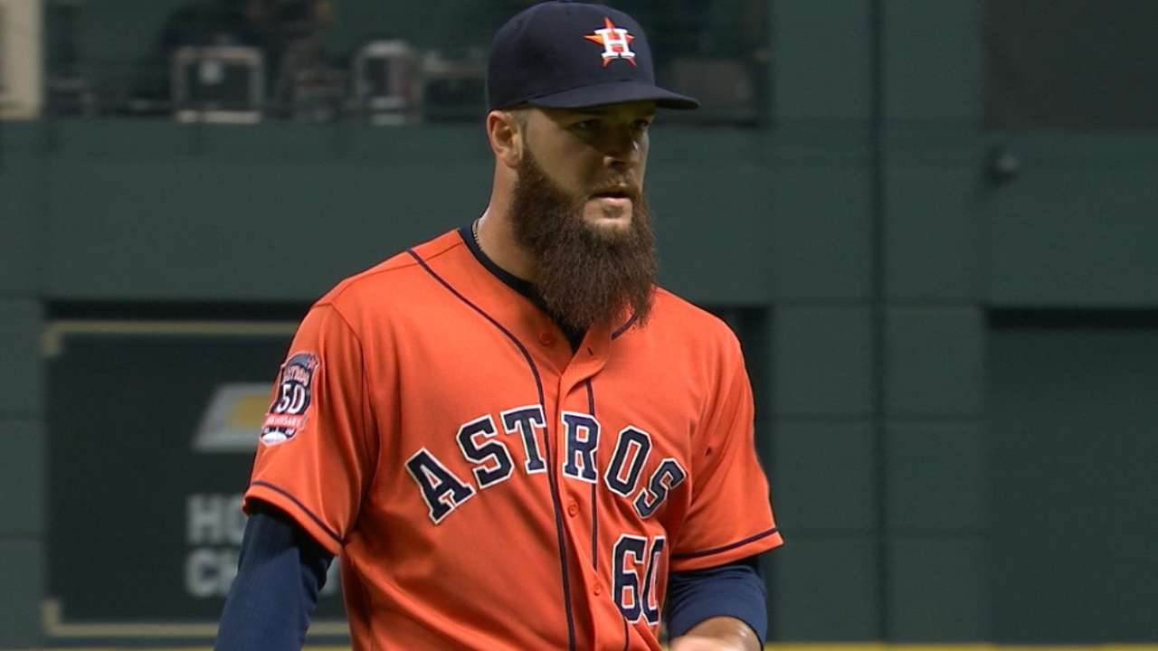 Keuchel's one-run outing