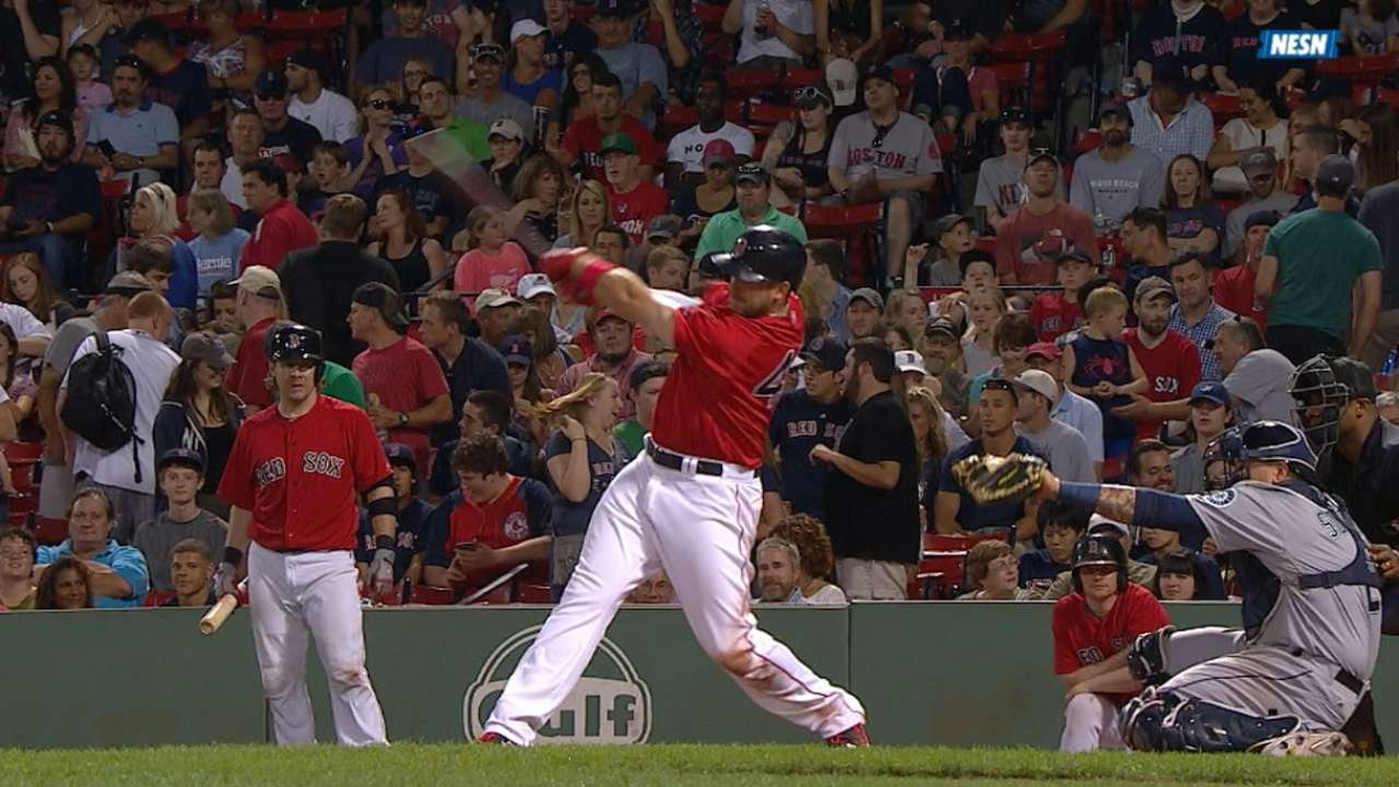 Shaw's two-homer game