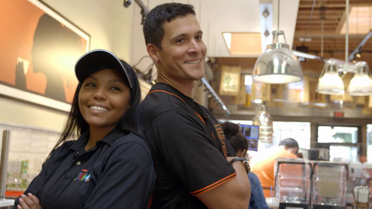 Lopez's community work earns Clemente nod