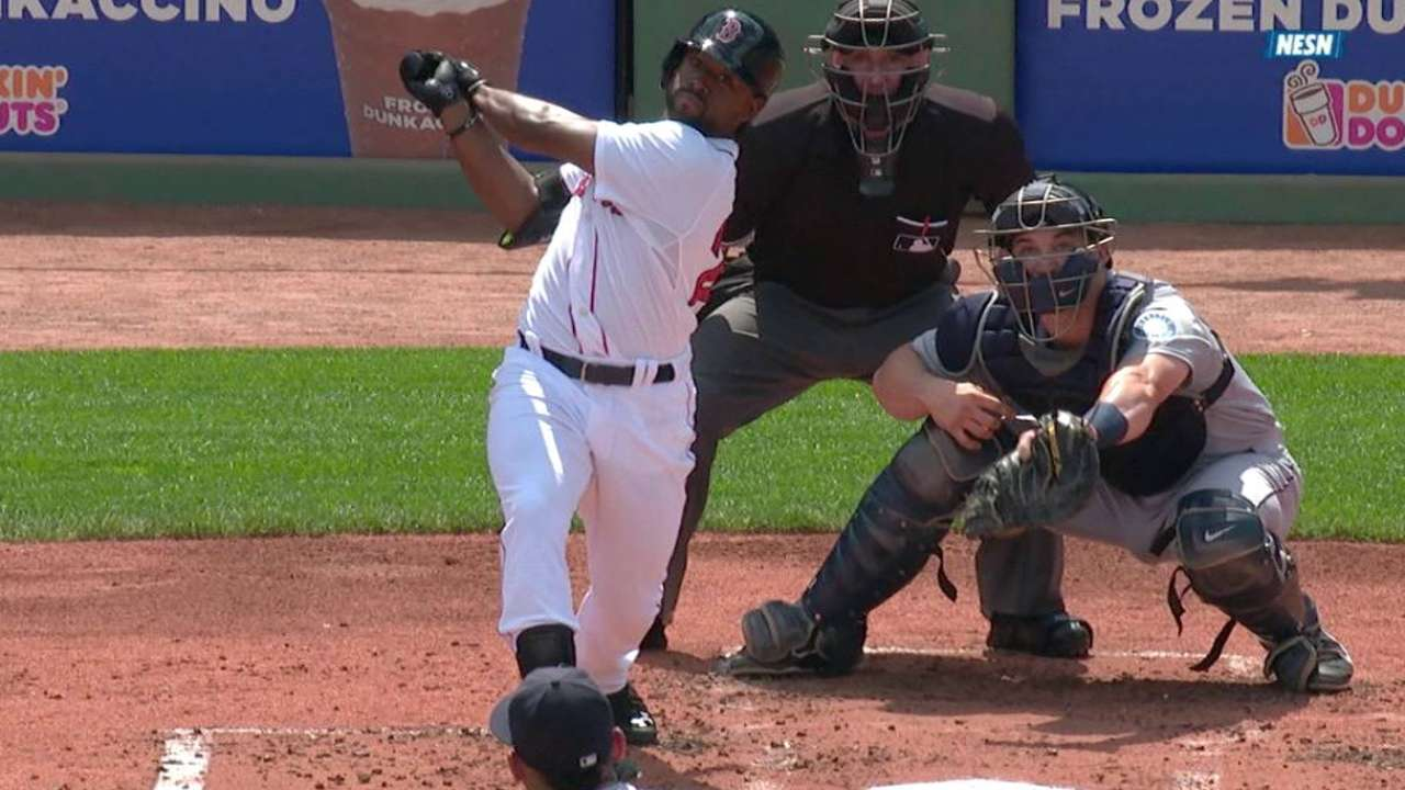 Bradley Jr.'s two-run home run
