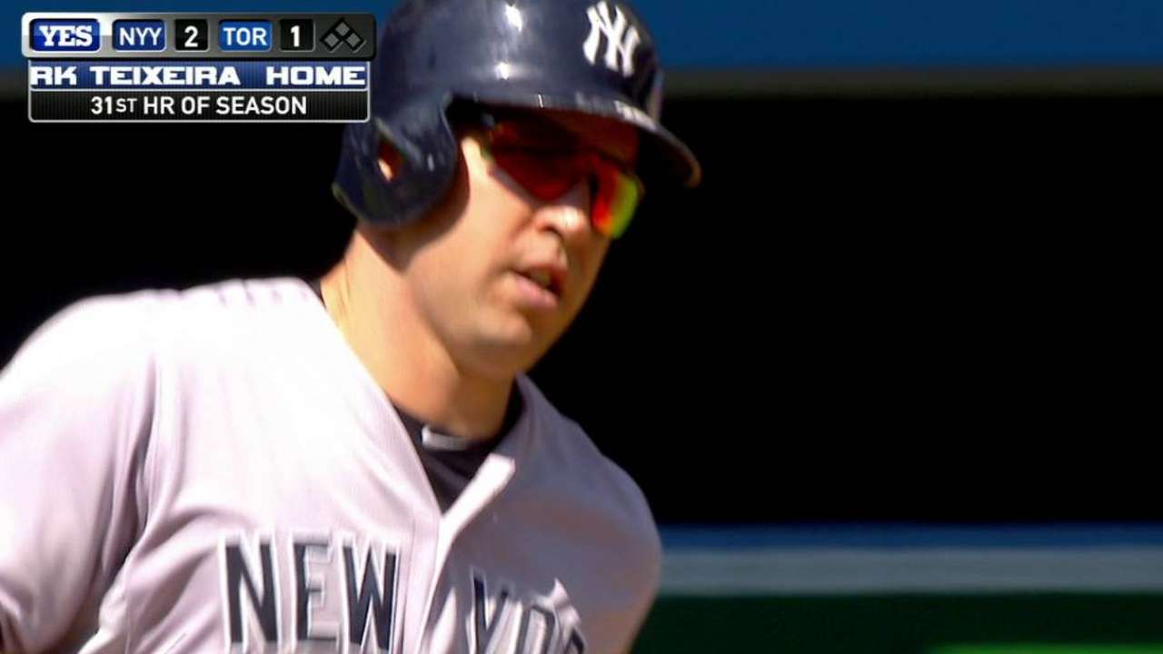 Teixeira's solo home run