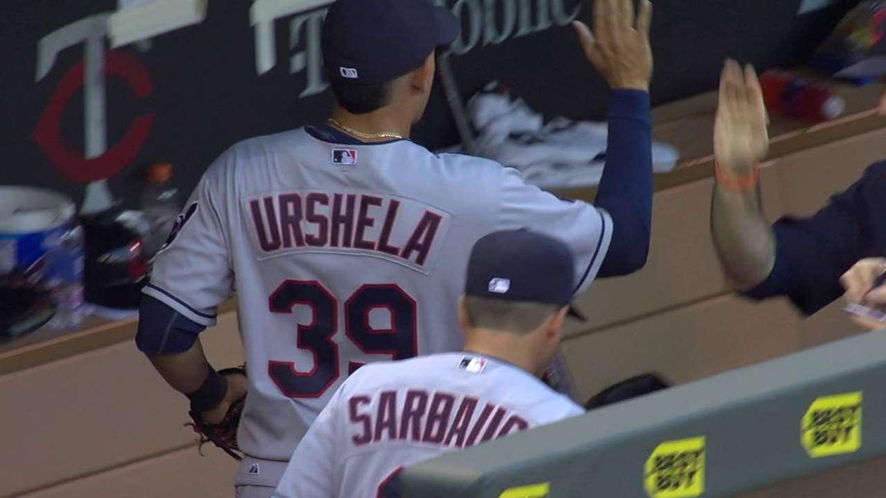 Urshela's barehanded play