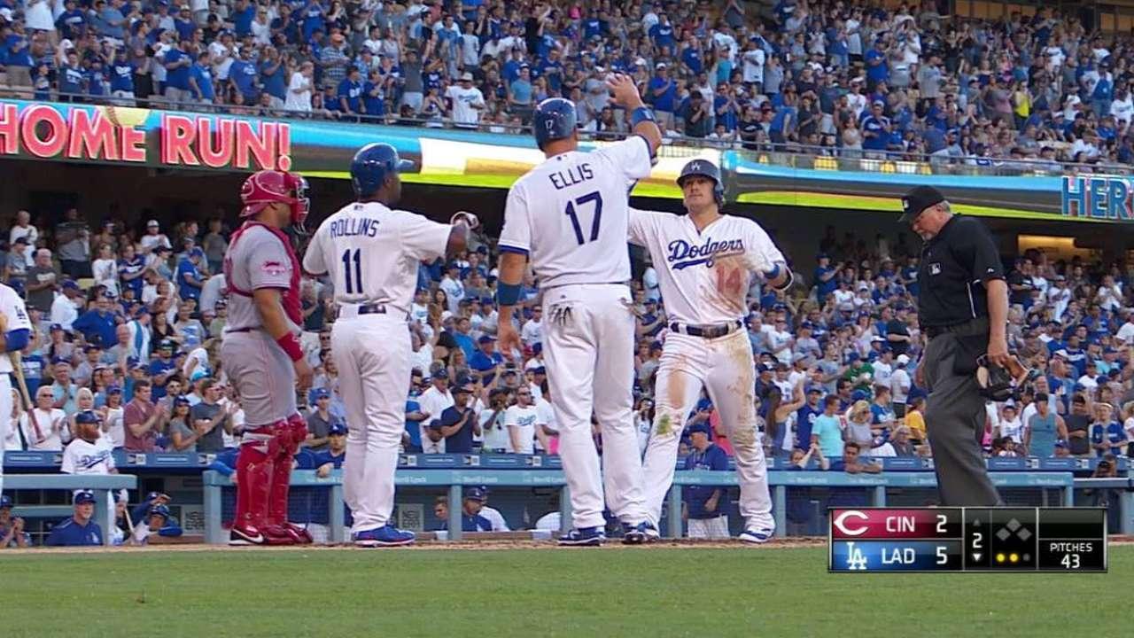 Hernandez earning at-bats over Pederson