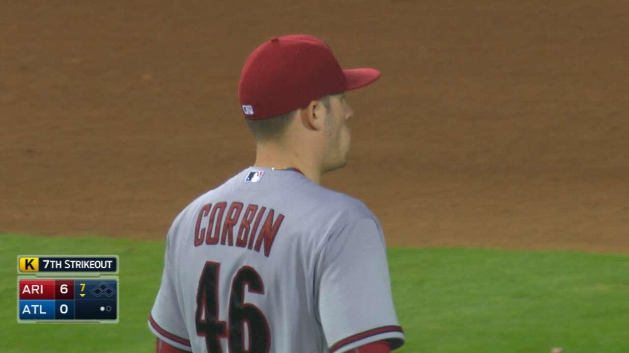 Corbin, Peralta propel D-backs past Braves