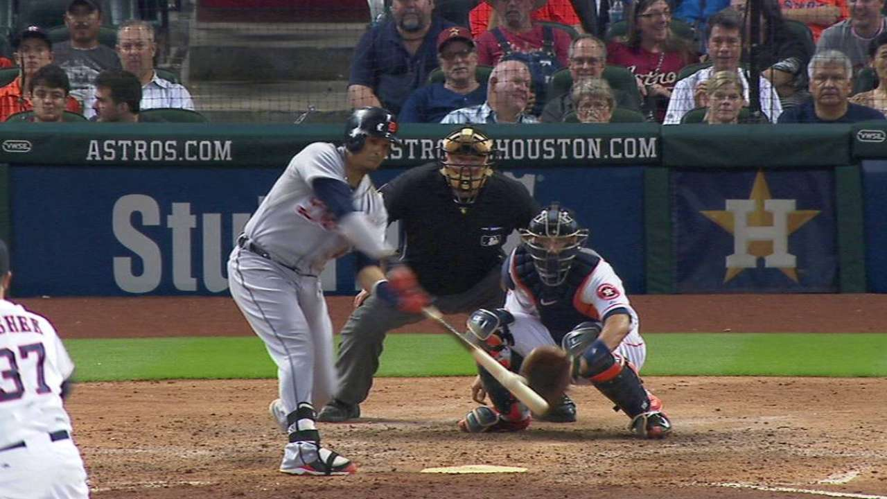 Tigers erupt in 11th to strike back in Houston