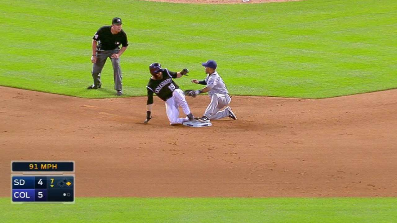 Norris throws out Blackmon