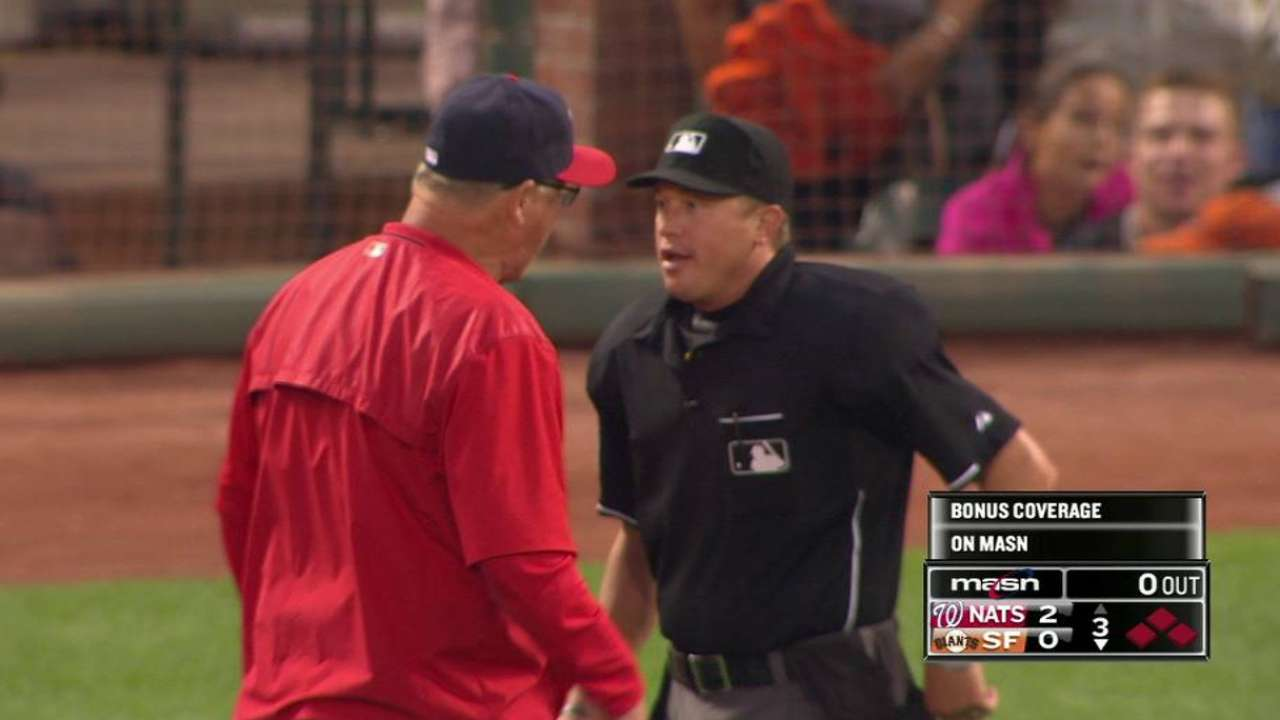 McCatty perplexed by Saturday's ejection