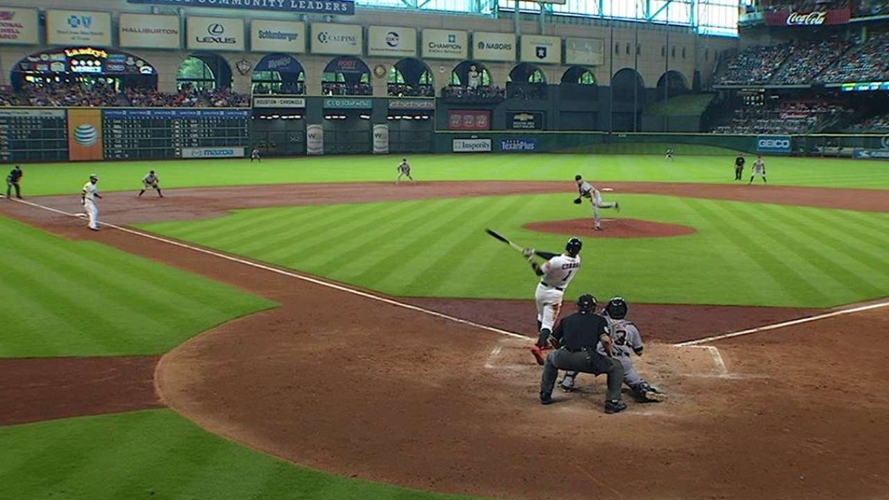 Correa's RBI single