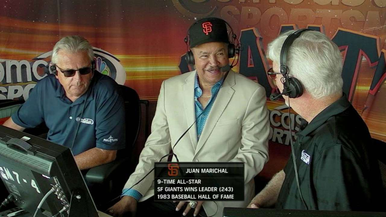 Marichal enthused about Strickland's potential