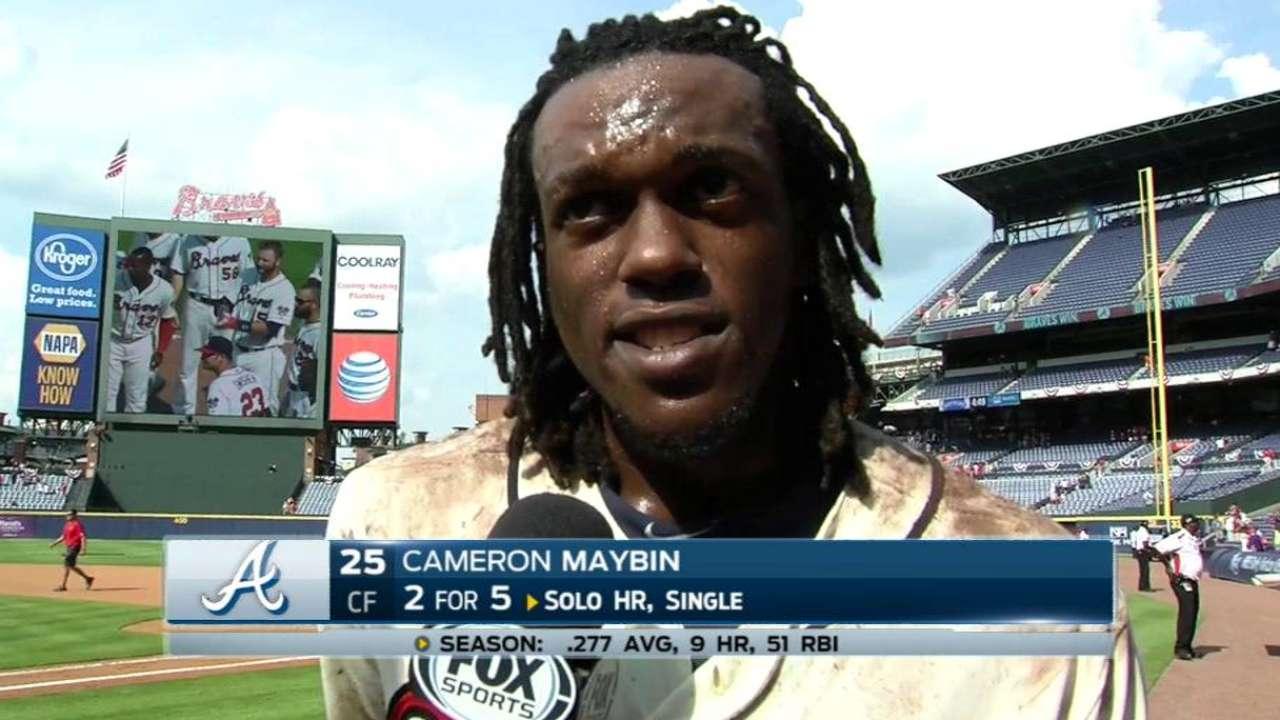 Maybin on Braves' 2-1 win