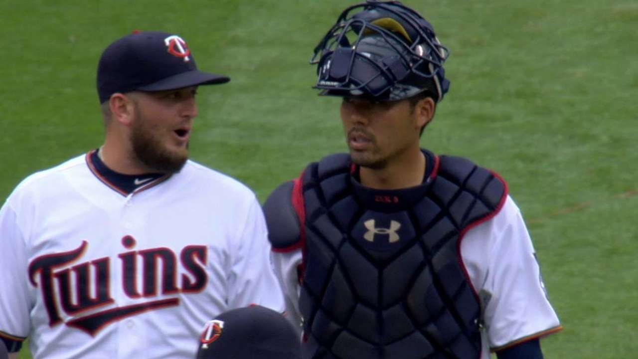 Twins hoping save gets Perkins in a groove