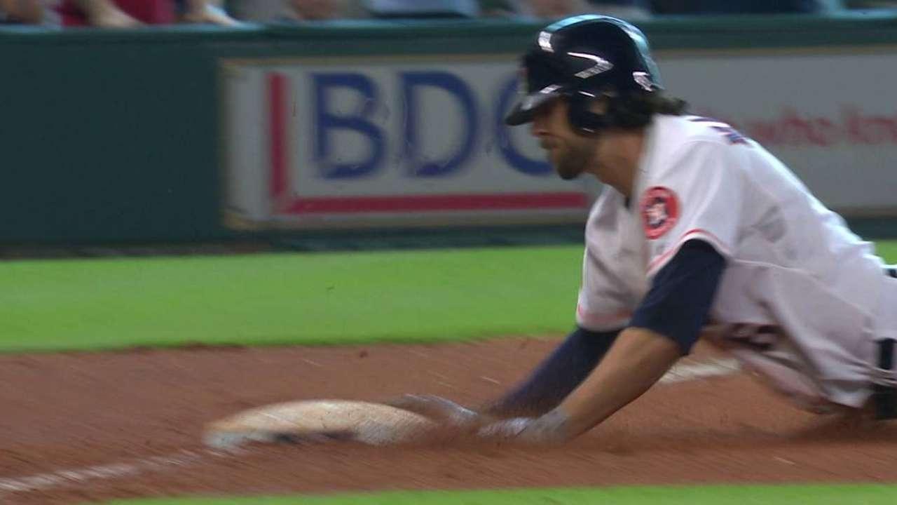 Marisnick's 9th-inning triple