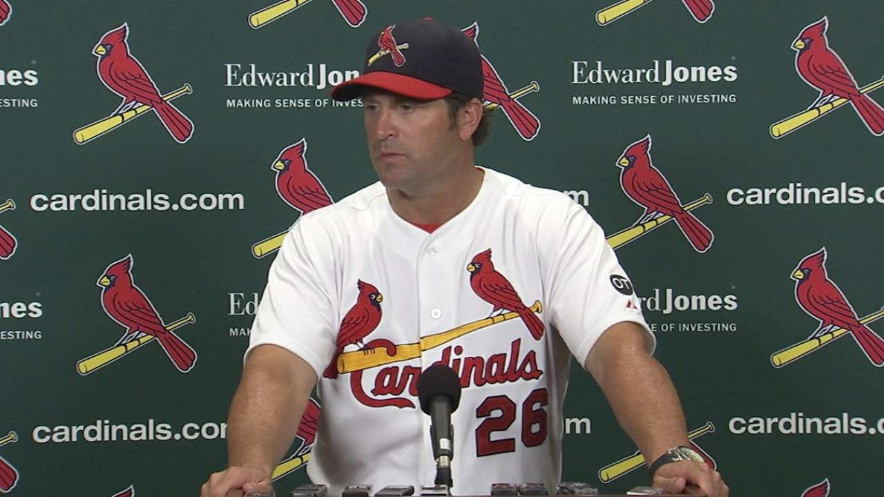 Matheny on rough defensive day