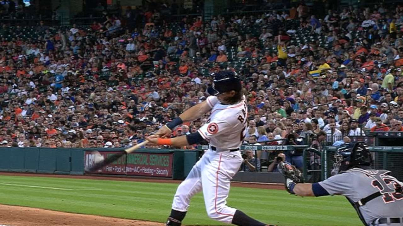 Rasmus muscles up with 2-homer game