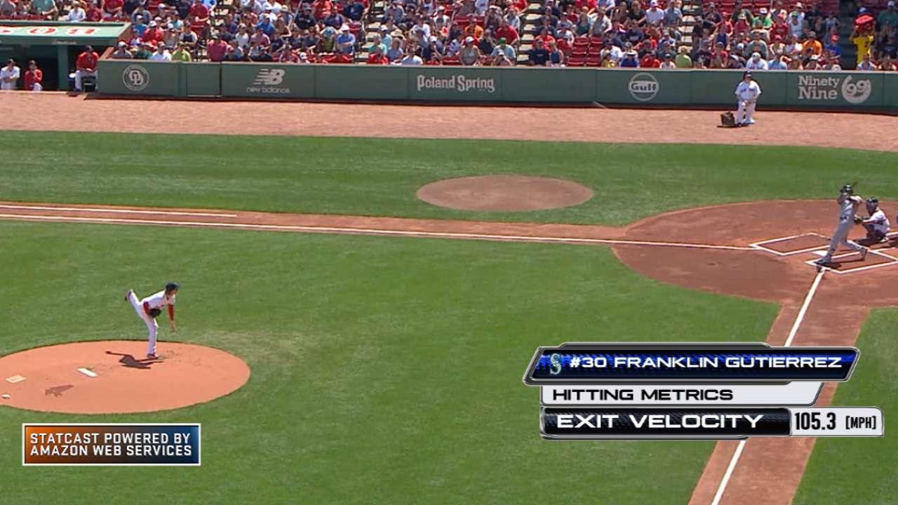 Statcast: Gutierrez's long homer