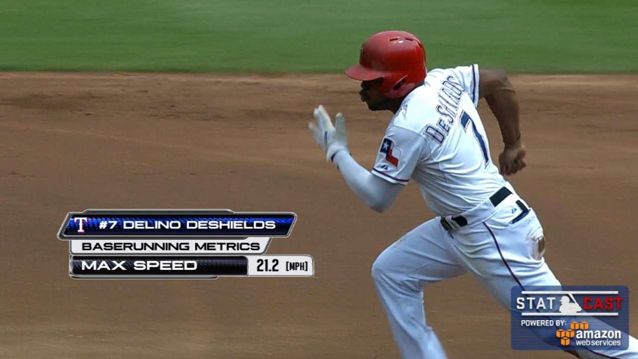Statcast: DeShields' speed