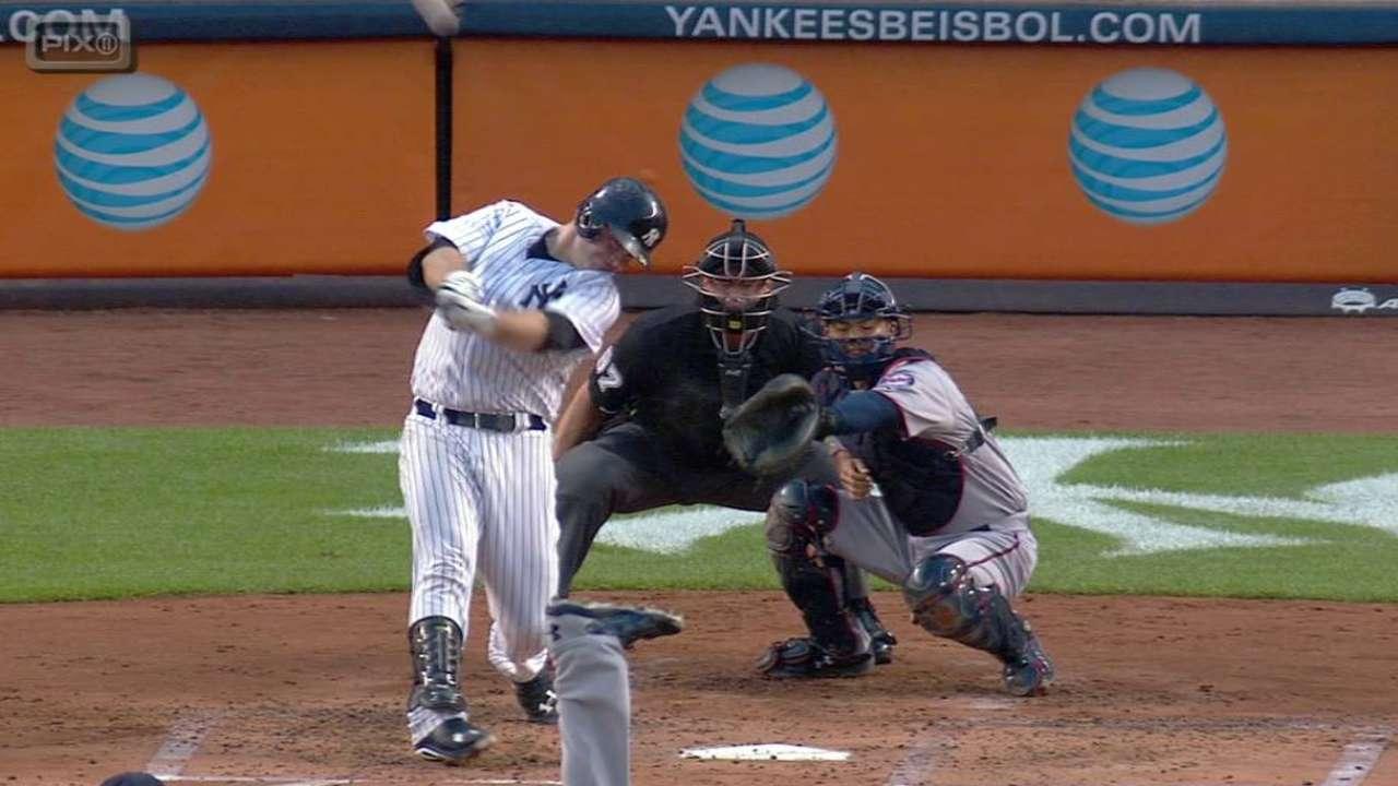 McCann's three-run home run