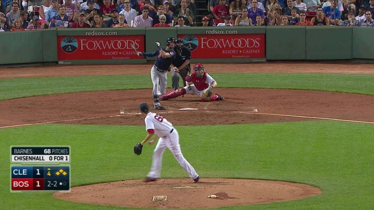 Chisenhall's two-run double