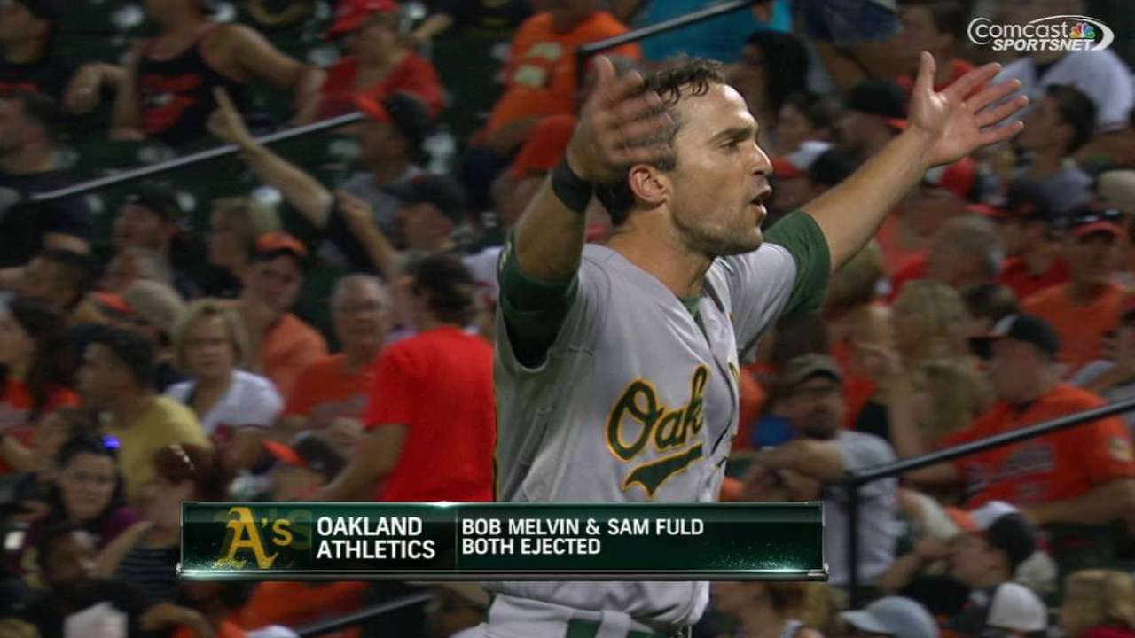 Fuld and Melvin's ejection