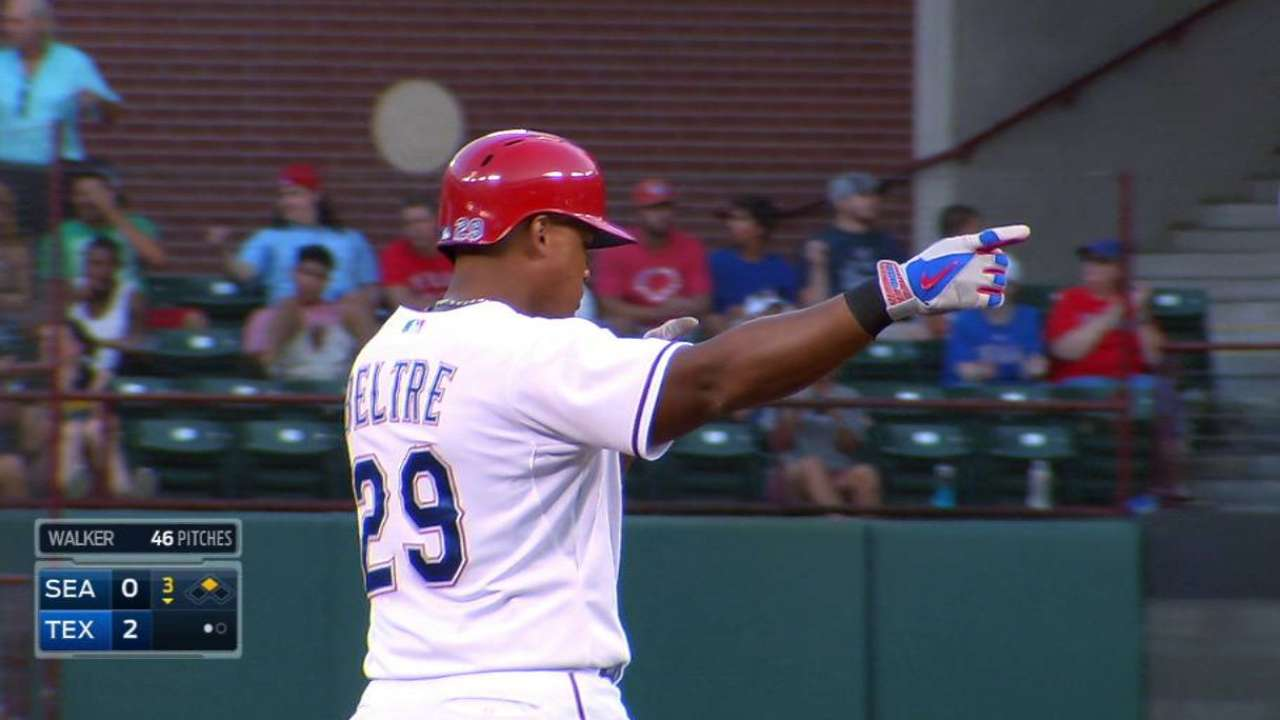 Beltre's second RBI double