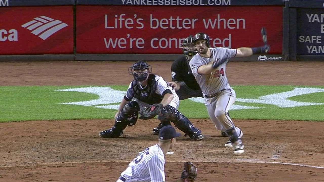 Plouffe's solo home run