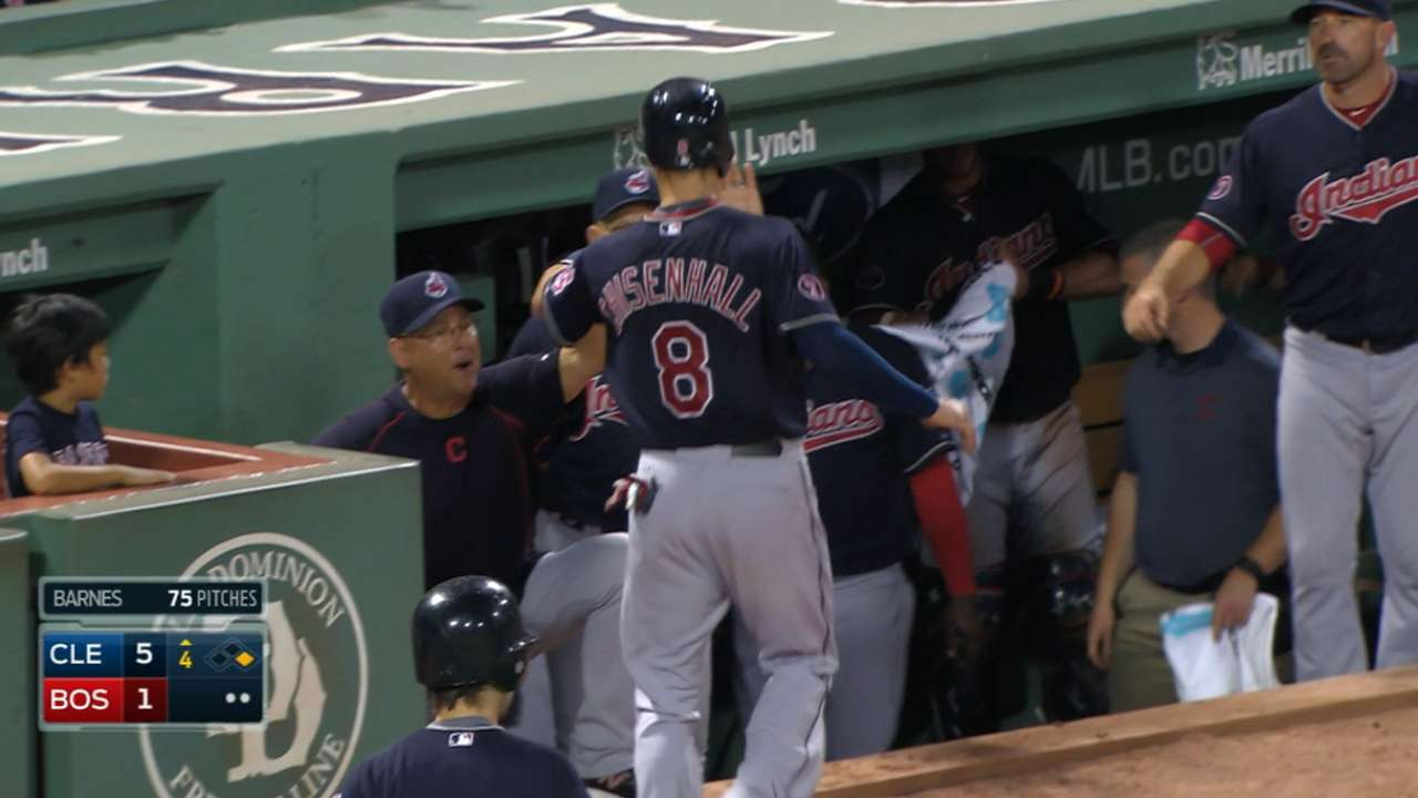 Salazar, big 4th spur Tribe over Red Sox