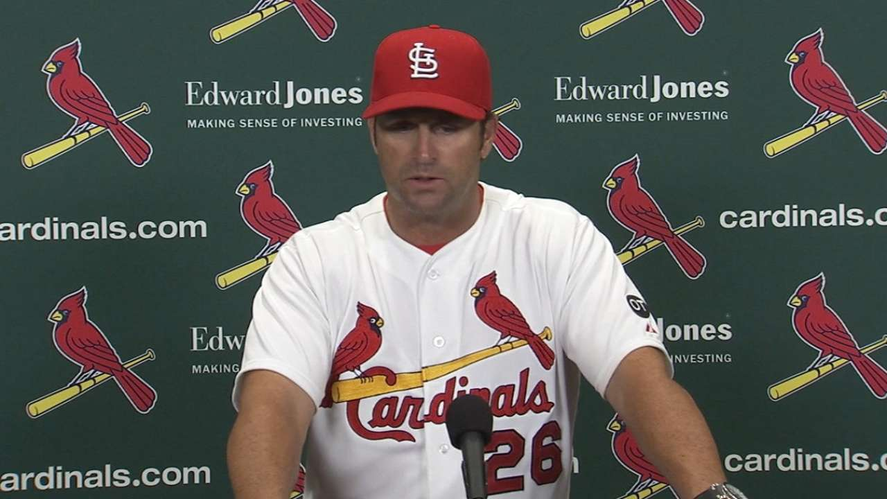 Matheny on Wacha, 2-1 win
