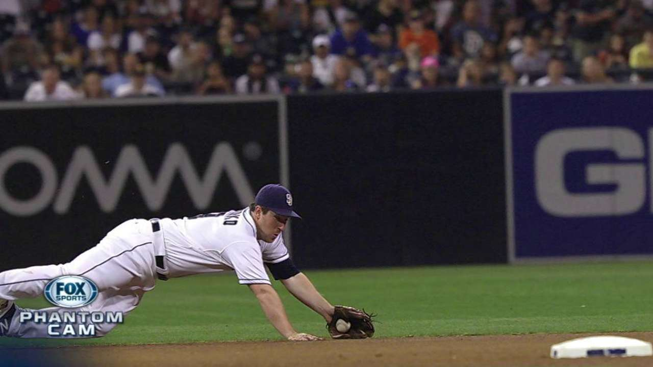 Padres turn to Gyorko to play shortstop