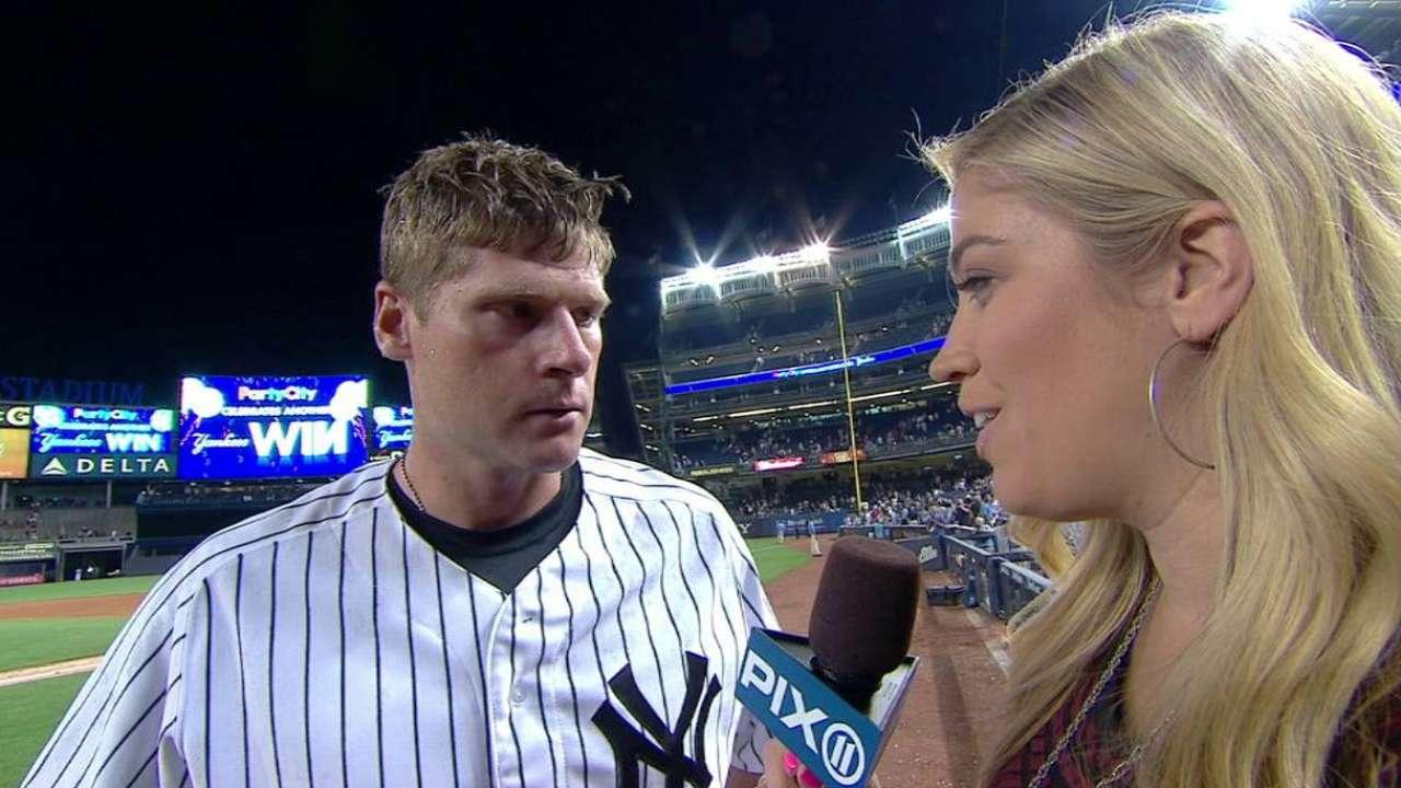 Headley on Yankees' 8-7 win